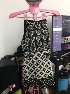 Topshop borcade dress