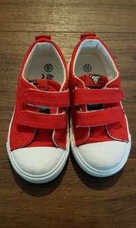 Toddler unisex canvas shoes