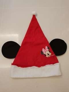 Disney Minnie Mouse Christmas Hat