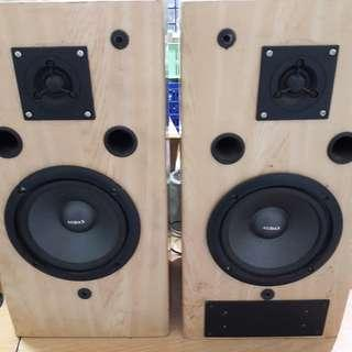 Loudspeaker/salon Audax 1 set