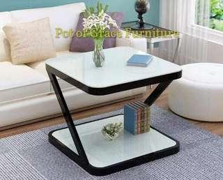 Glass Tempered Side Table