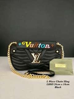 💥4A, LV WAVE CHAIN SLING