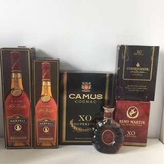 Martell V.S.O.P/ Cognac XO
