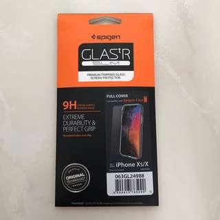 [INSTOCK] Spigen Fully Covered iPhone XS Tempered Glass