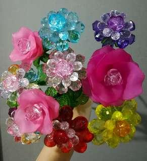 Beaded Flowers for Souvenirs or Giveaways