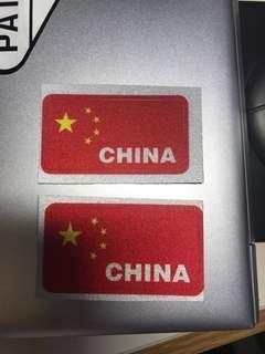 China 中國 🇨🇳 3M反光車貼 貼紙