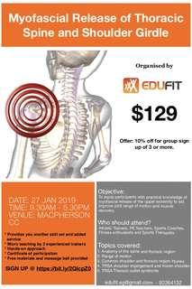 Myofascial Release of the Thoracic Spine and Shoulder Girdle