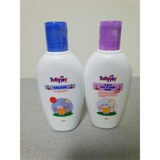 Tollyjoy baby bath & 2-in-1 hair and body wash