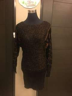 Knitted dress good as new