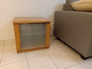 Ikea bedside table for sale 49x49cm