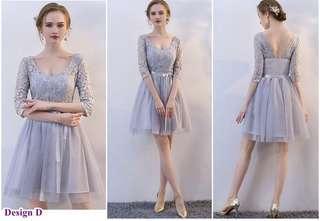[New] Pink Princess Party Bridesmaid Dress Dinner Grown 1