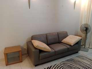 Sofa ikea leather ( 200cm )