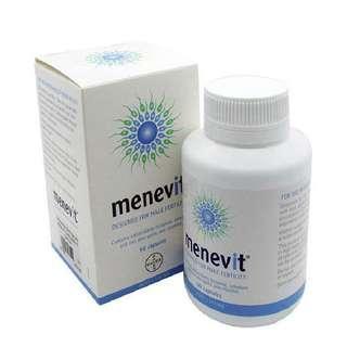 【全新】改善精子活力質素 愛樂維Menevit男士備孕營養素/90粒
