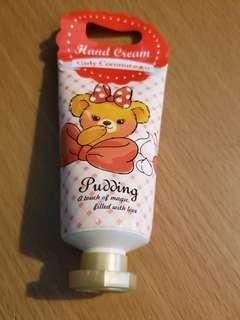 Disney hand cream 全新 coconut香味 ~ 30g購自日本