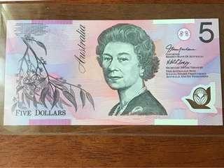 Australia $5 Polymer UNC