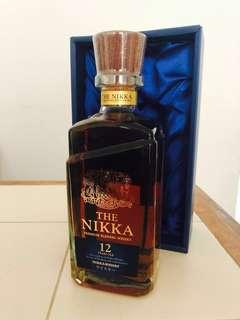 🚚 Nikka 12 Blended whiskey with box