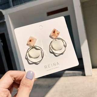 Fairy Metal Ring Earring