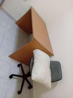 Ikea study table for sale...free chair