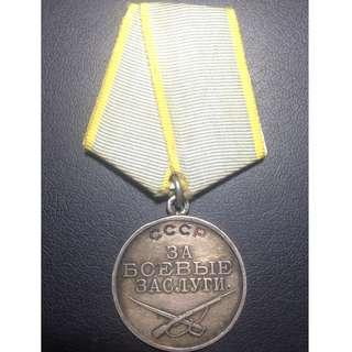 Soviet Medal for Combat Merit (T2V2) #2360141