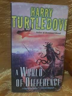 Pre-loved Books: A World of Difference by Harry Turtledove