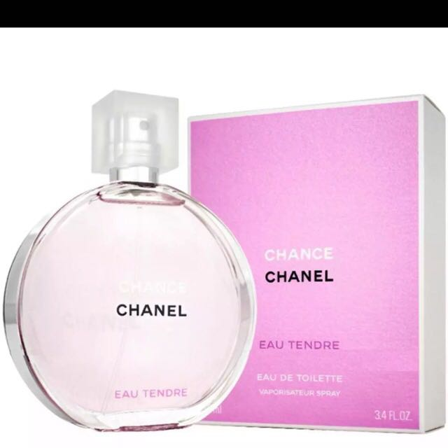 100 Authentic Chanel Chance Eau Tendre Eau De Toilette 100 Ml