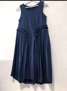 Carven front-tie dress