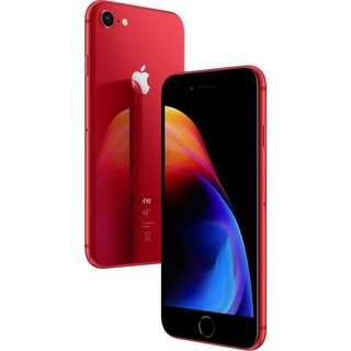🚚 iphone 8 Product Red, 64 GB