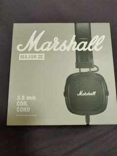 Marshall major 3 wired