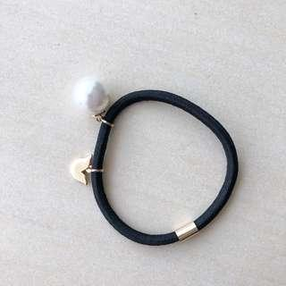 Korean Faux Pearl Hair Tie