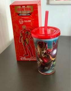 迪士尼「鐵甲奇俠」水杯
