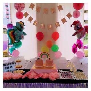 Dessert Trays / 3-tier cupcake stands [ RENTAL ]
