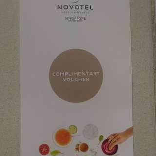Novotel dining voucher