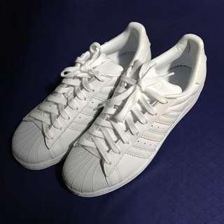 Adidas superstar triple white