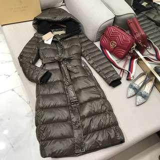 Burberry Long Puffer Jacket Coat