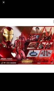 Hot toys Infinity wars mark 50 iron man  HOTMMS473D23 Last piece