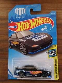 Hot wheels Mazda rx7