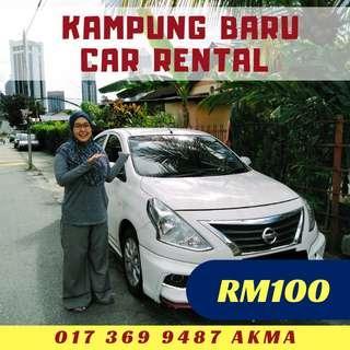 Car Rental Nissan Almera