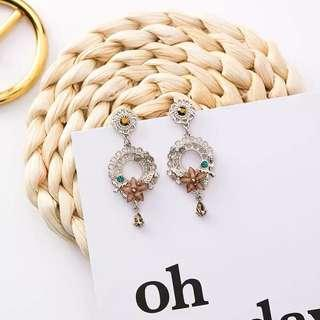 <free pos 3 pairs & above> Korean design elegant earrings