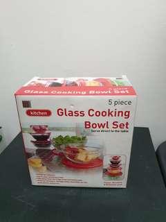 BN Glass Cooking Bowl Set