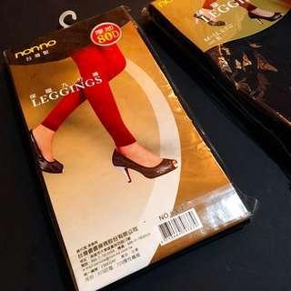 全新😍兩雙優惠/極暖Nonno 台灣製九分褲 legging