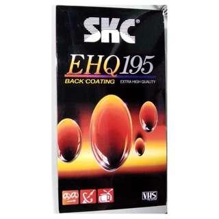 全新SKC VHS video tape EHQ195 made in Korea
