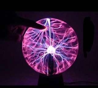 (全新) 靜電球 離子球 LED 燈 Plasma Ball
