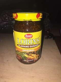 Lorins Alamang guisado