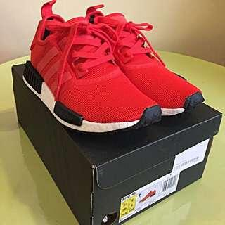 🚚 Brand New - Adidas NMD R1 Red/Black UK6