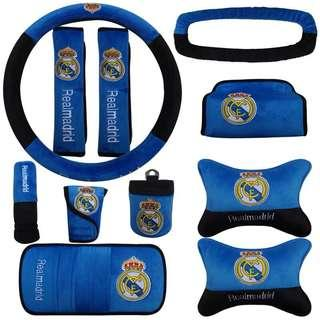 Real Madrid Car Accessories Set