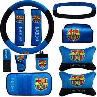Barcelona Car Accessories Set
