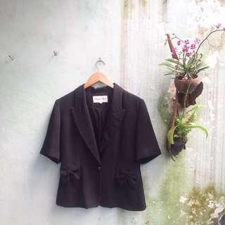 Ribbon Pocket Blazer