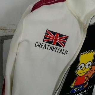 純白A&F 棉外套休閒外套展示品 全新