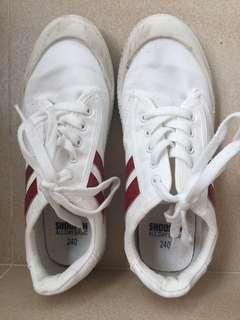 Korea Shoopen retro white sneakers