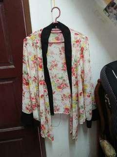 Preloved Cardigan kimono
